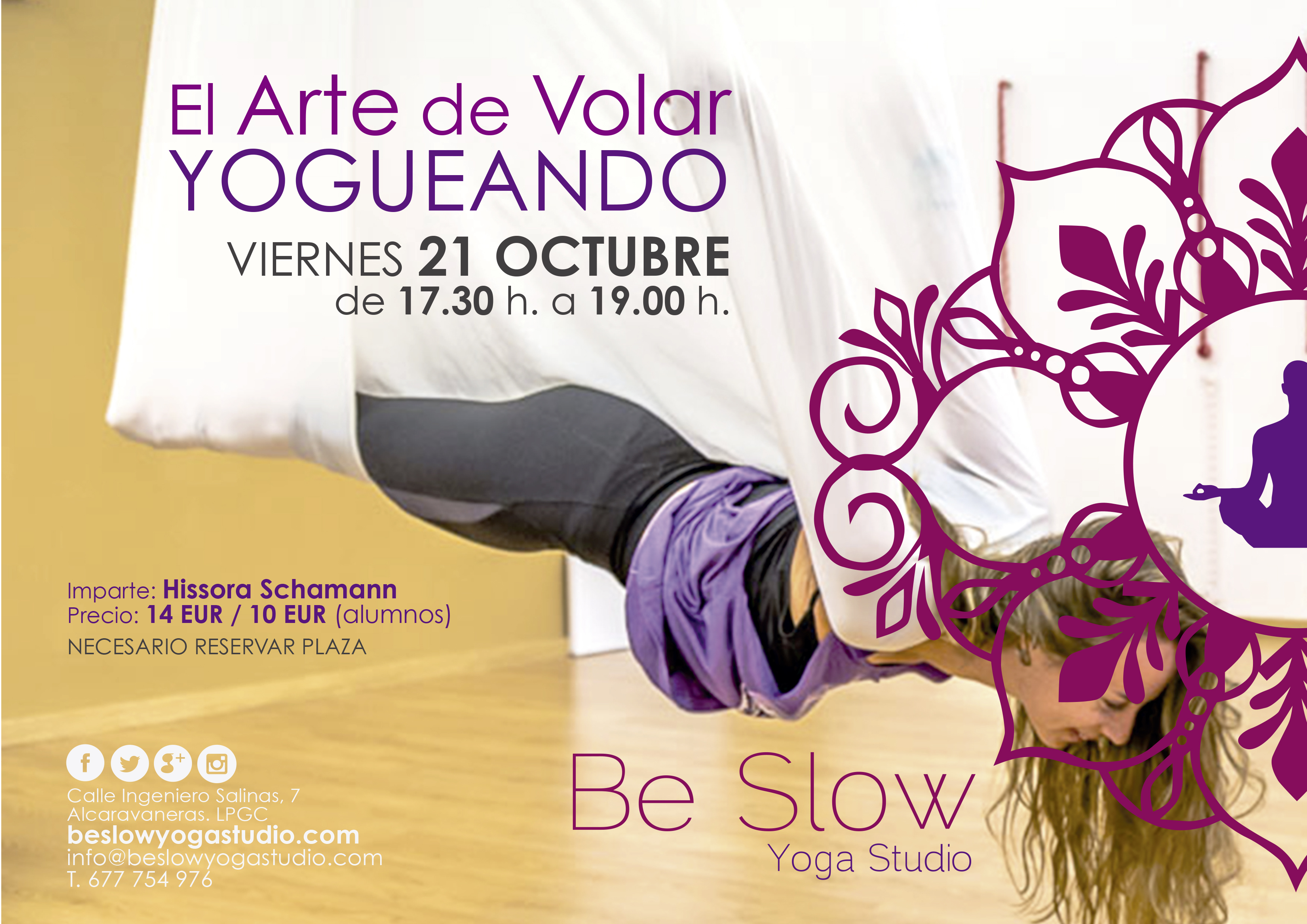 Air Yoga este viernes 21 de octubre