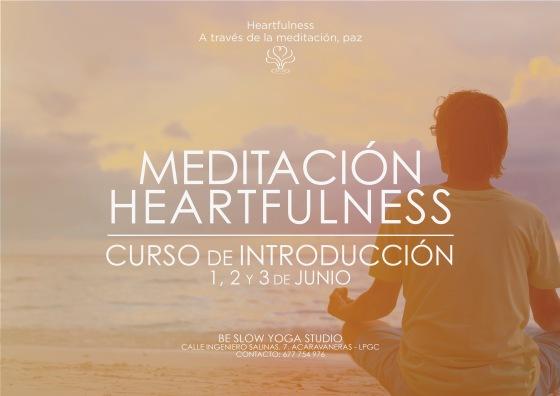 Este fin de semana, Introducción a la Meditación Heartfulness