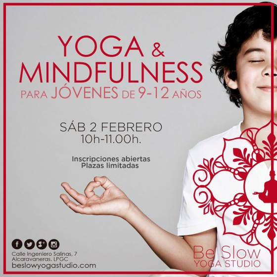 Yoga y Mindfulness para Niños este sábado