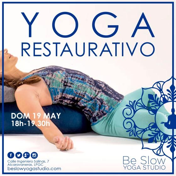 Yoga Restaurativo, volvemos a relajar, reactivar, reconectar…