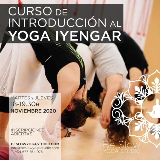 ¡Volvemos con un Curso de Introducción al Yoga! Comienza a tu ritmo y sin prisas.